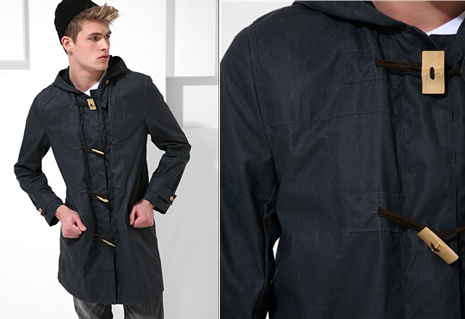 ManChic: Waxed Cotton Duffle Coat by Acne