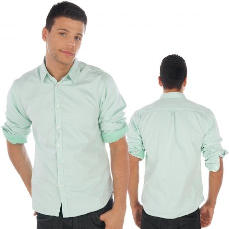 Shirt-turquoise