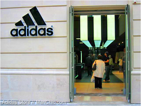 adidas paris champs elysees